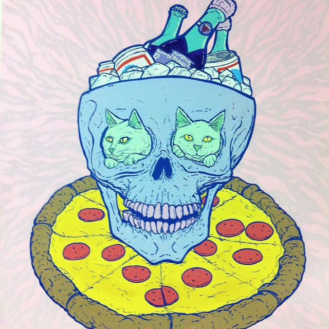 Stay Frosty. #CATSPLOSION #supremepizzacats