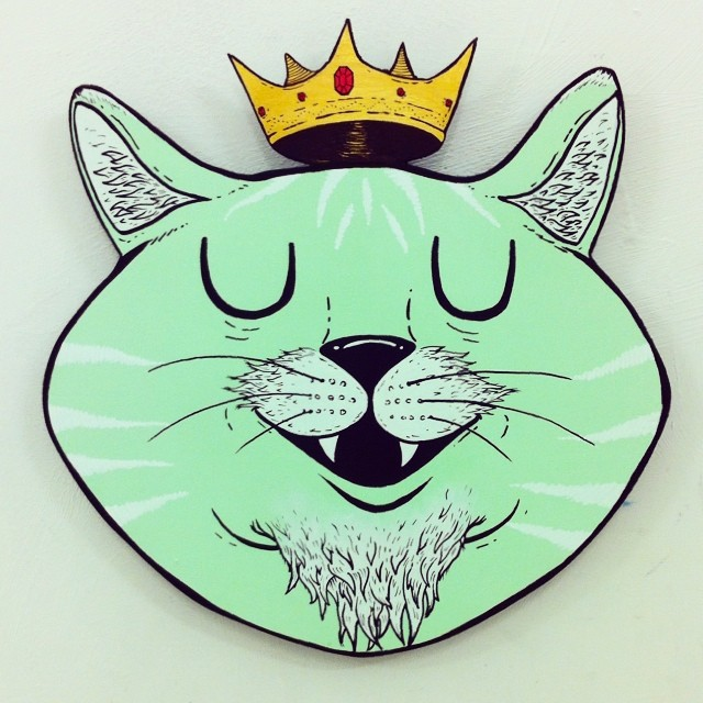 King Kat #👑😼 (at Stour Space)