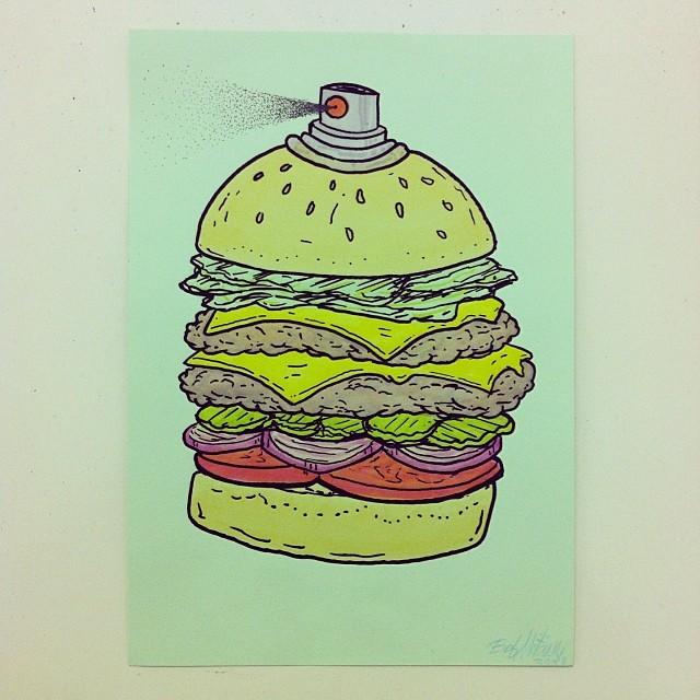 Eau de Burger.