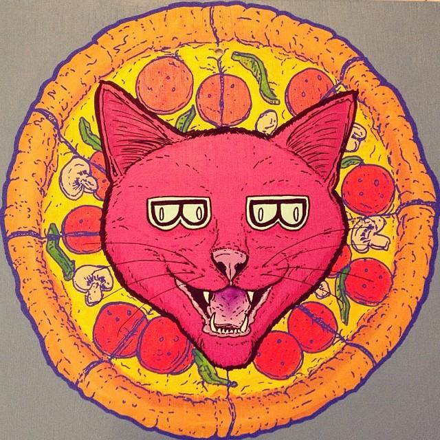 Mo' pizza. Mo' problems.
