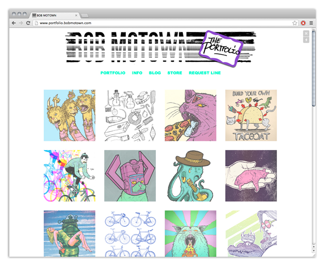 FANCY NEW PORTFOLIO     Hey look! I totally re-did my  website … again… You should totally go check it out and click on stuff.   some new key features:    fancy squares   improved flavor   drink holder   clickable stuff   90% less fat   free high fives *while supplies last