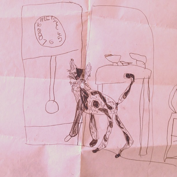 #tbt possibly the first cat I ever drew. Twenty years ago. #throwbackthursday #1993 #gato #cats #vintage #bobbymotown