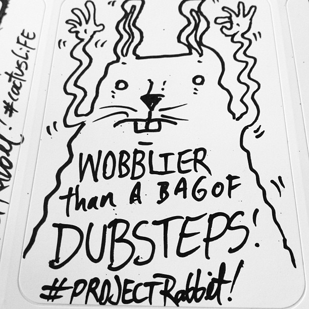 Wobble wobble womp womp #projectrabbit  (at The Hollywood Dell)