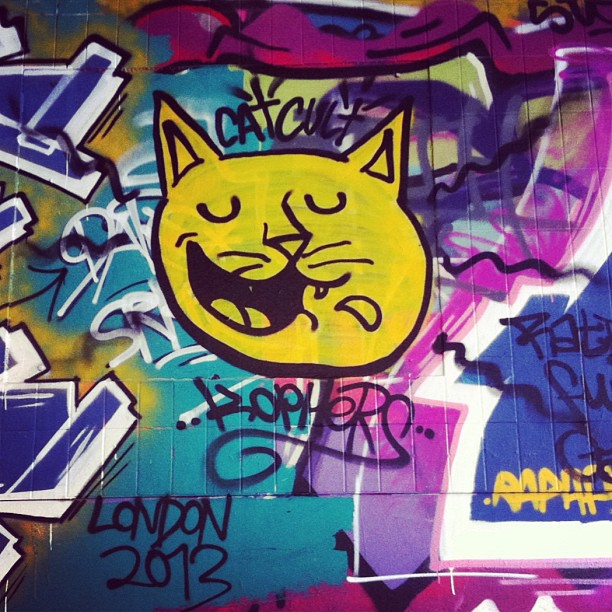 #caturday special (at Leake Street Tunnel)
