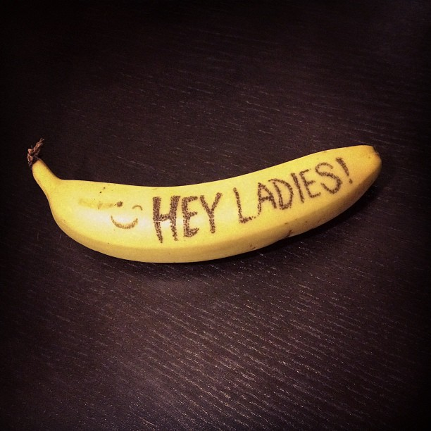 For those of you alone tonight on Valentines day, Dirty Banana is there…