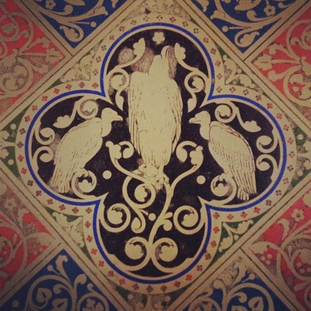 #Vultures in #Paris (at Sainte-Chapelle)