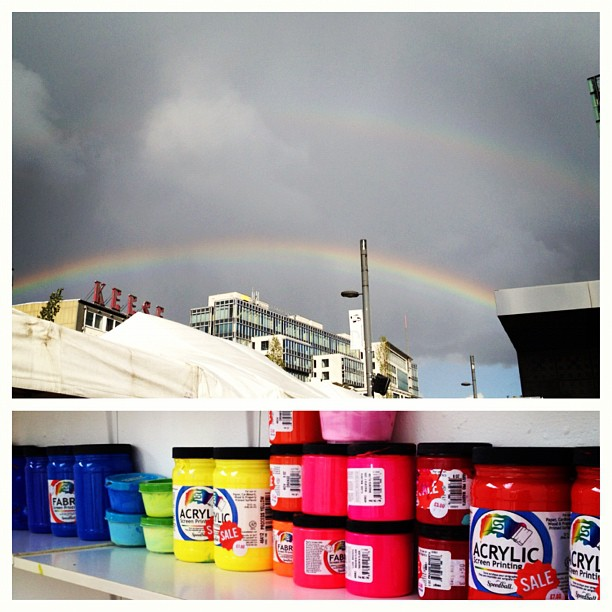 My week is filled with rainbows #❤💛💚💙💜 (Taken with  Instagram )