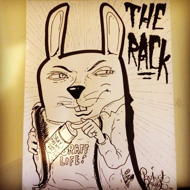 The Rack! #grafflife #projectrabbit (Taken with  Instagram )