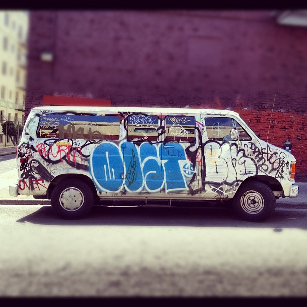 #grilled #truck #graffiti #grafflife  (Taken with  Instagram  at Out here)