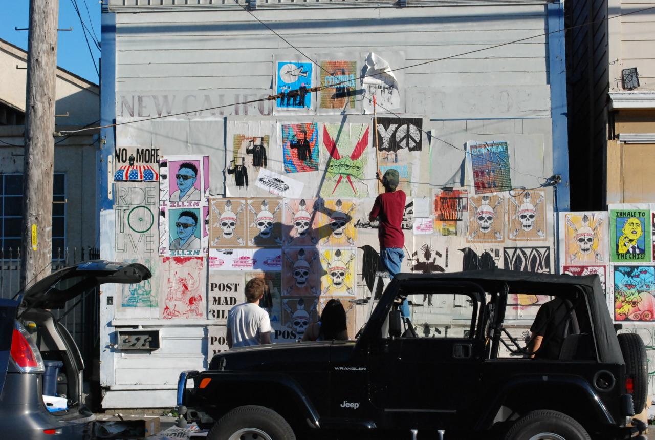 Street arts happening in Oakland CA