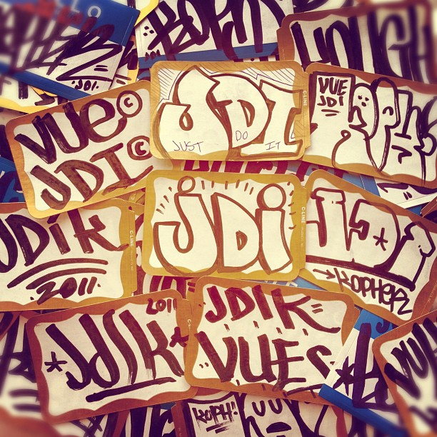 Joy Definitely Involves Slaps… #JDI (Taken with  instagram )