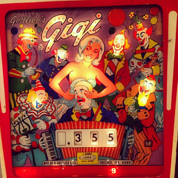 Down with the clown (Taken with  Instagram  at Pacific Pinball Museum)