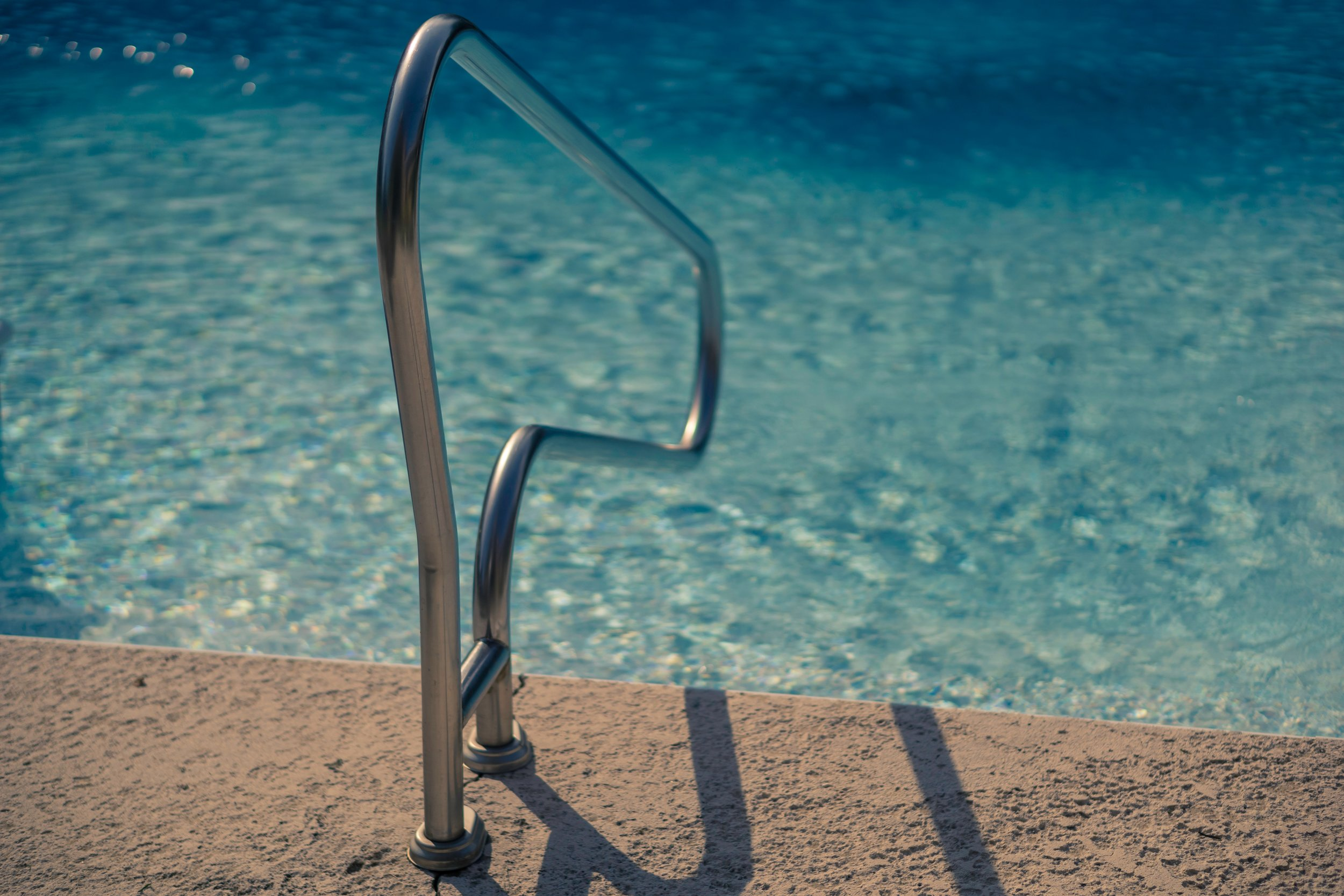 stainless steel pool grab rails
