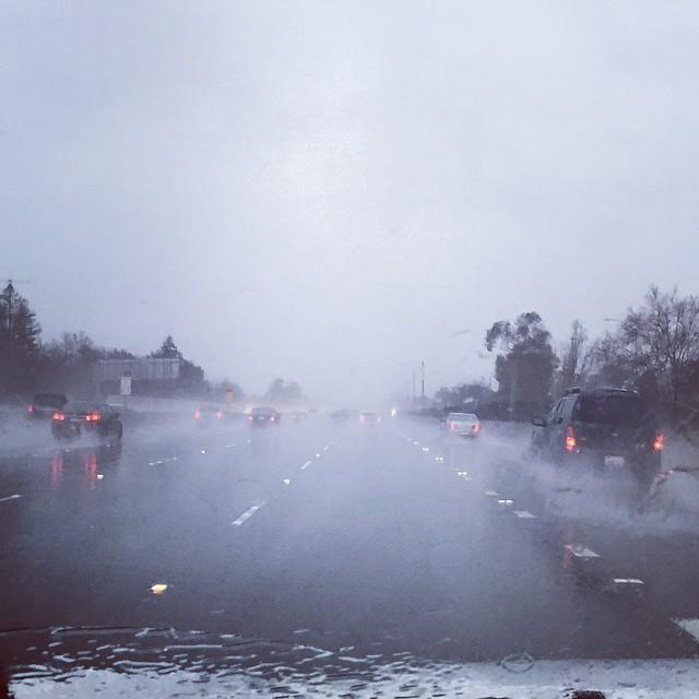 Kun yli puolen vuoden kuivan kesän jälkeen sataa, aiheuttaa se yleensä melkoisen kaaoksen.