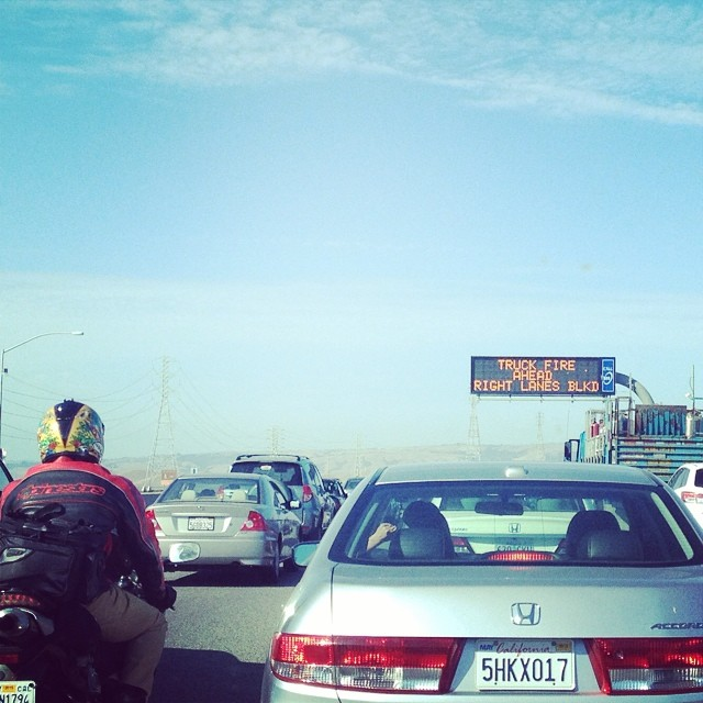 California traffic is more than familiar to us by now.