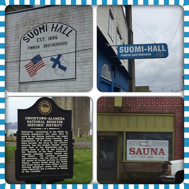 We found this little town full of Finnish things in Washington.