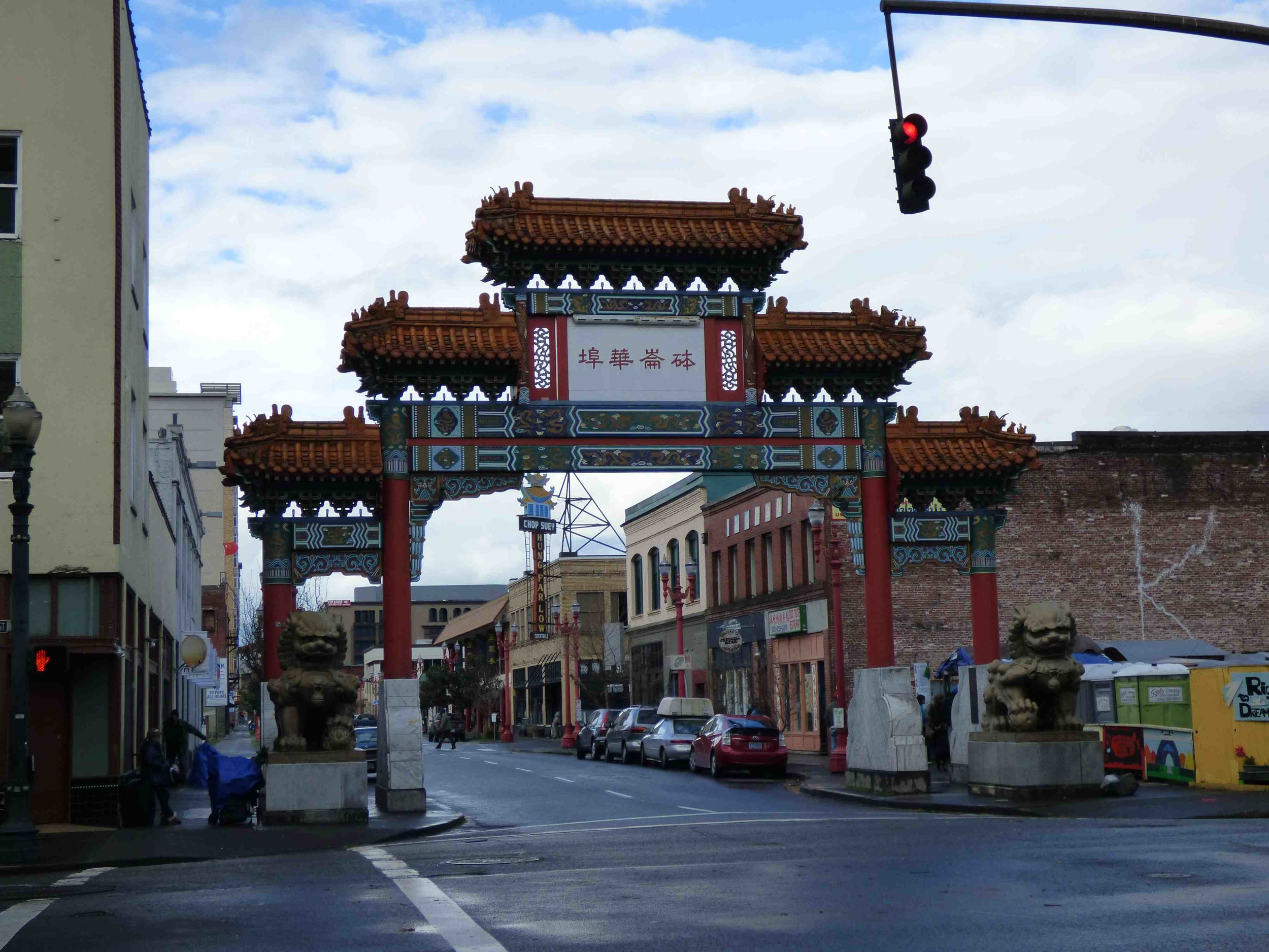 Old Town Chinatown in Portland