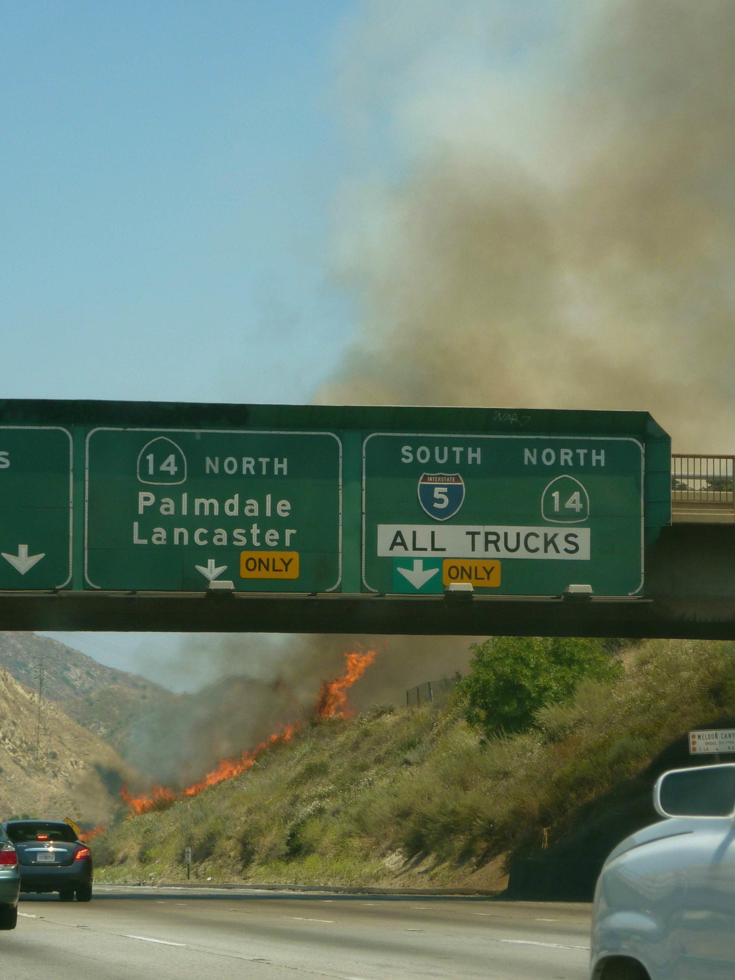 Tämä kuva on joltakin aiemmalta Los Angelesin reissulta
