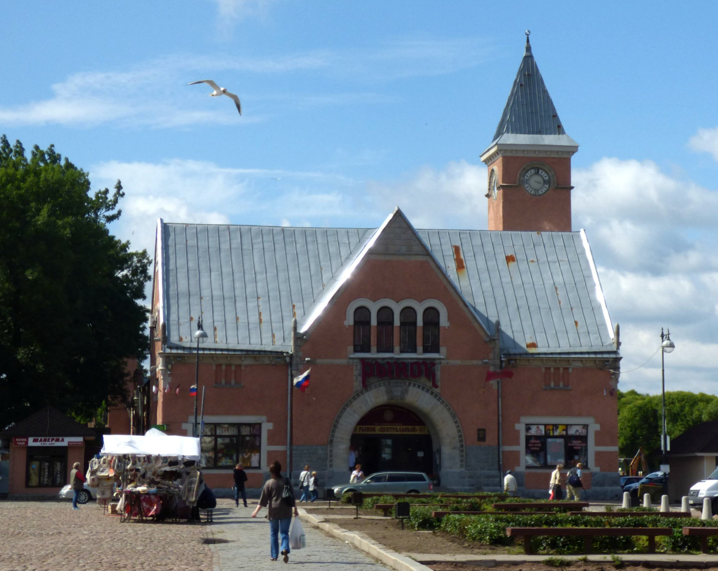 The Market Hall of Vyborg