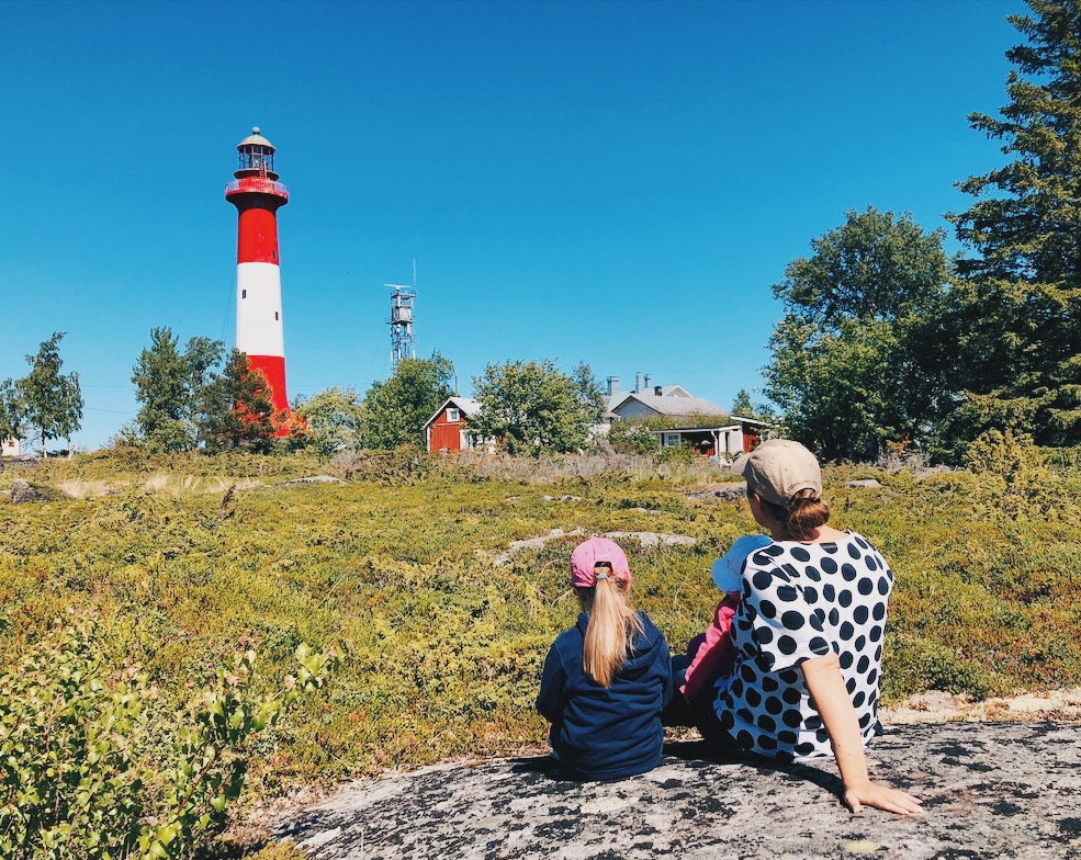 Ihanaa aikaa perheen kanssa Suomen kesässä