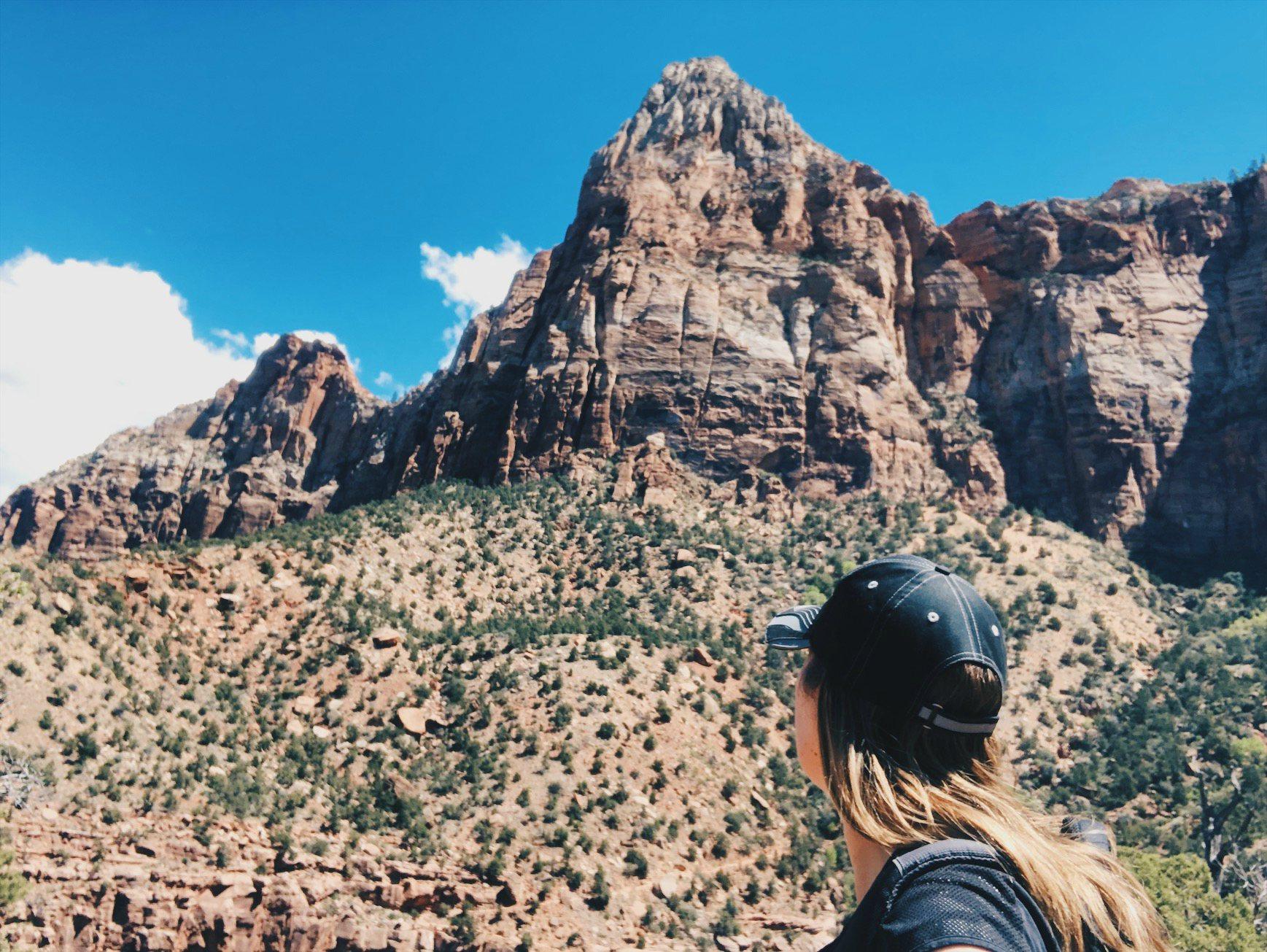 Watchman Trail Zion National Parkissa