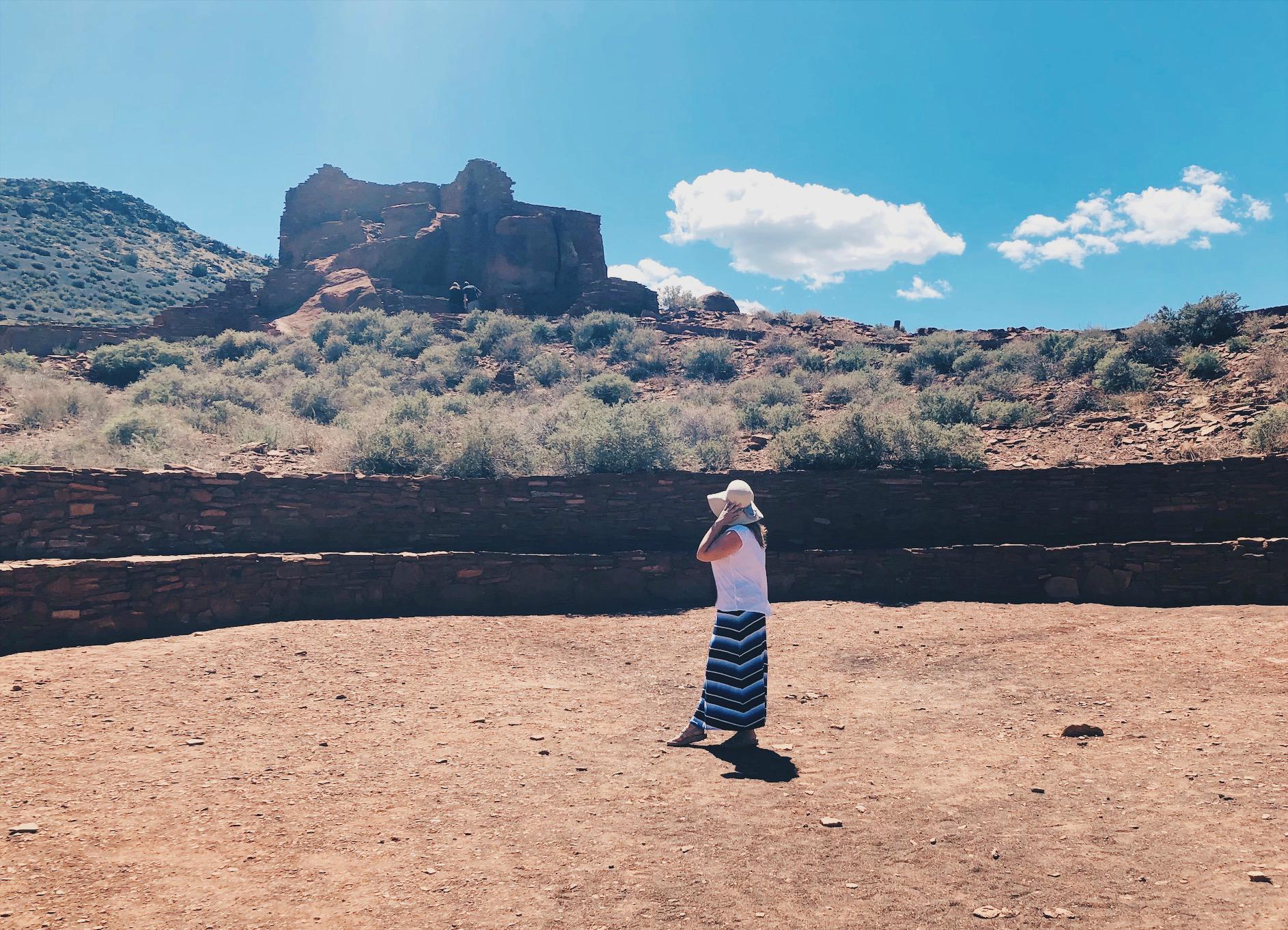Pueblo-intiaanien raunioilla Arizonan Wupatkissa on ihanan rauhallinen ja hengellinen tunnelma