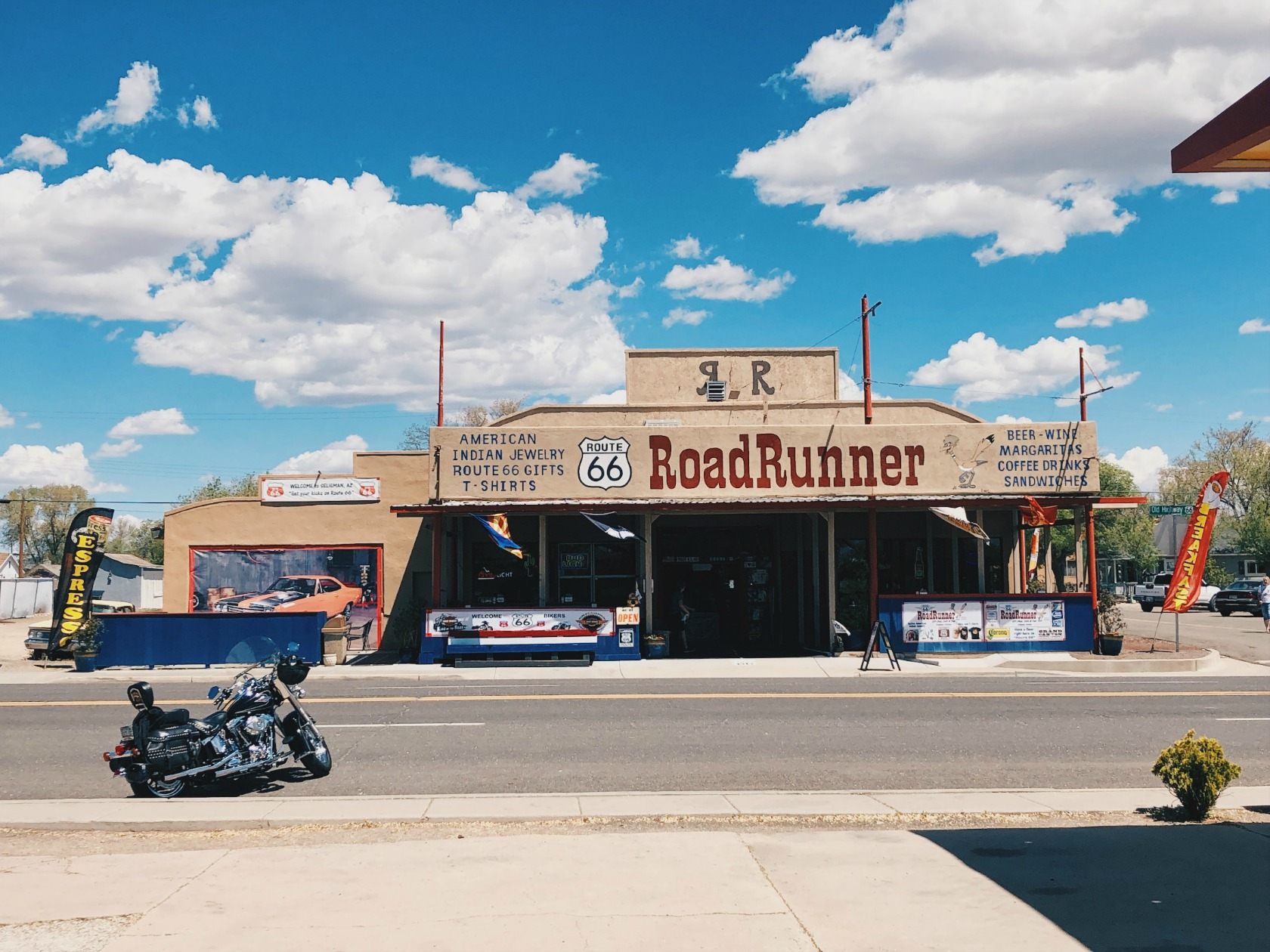 RoadRunner -ravintola Seligmanissa