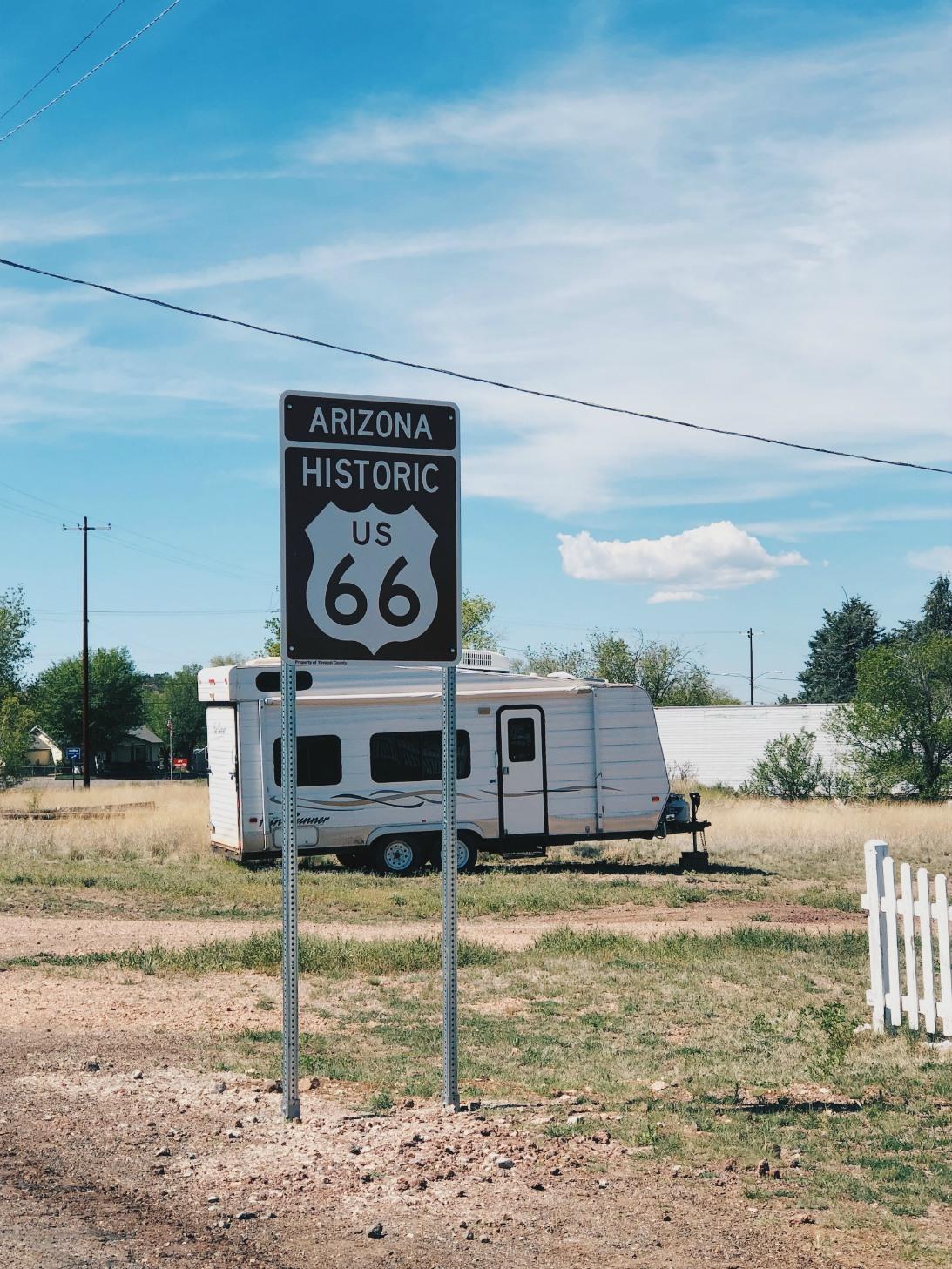 Yritimme seurata sitä aitoa U.S. Route 66:ä niin paljon kuin pystyimme. Aina välillä oli kuitenkin pakko ottaa jonkunlainen kiertotie.