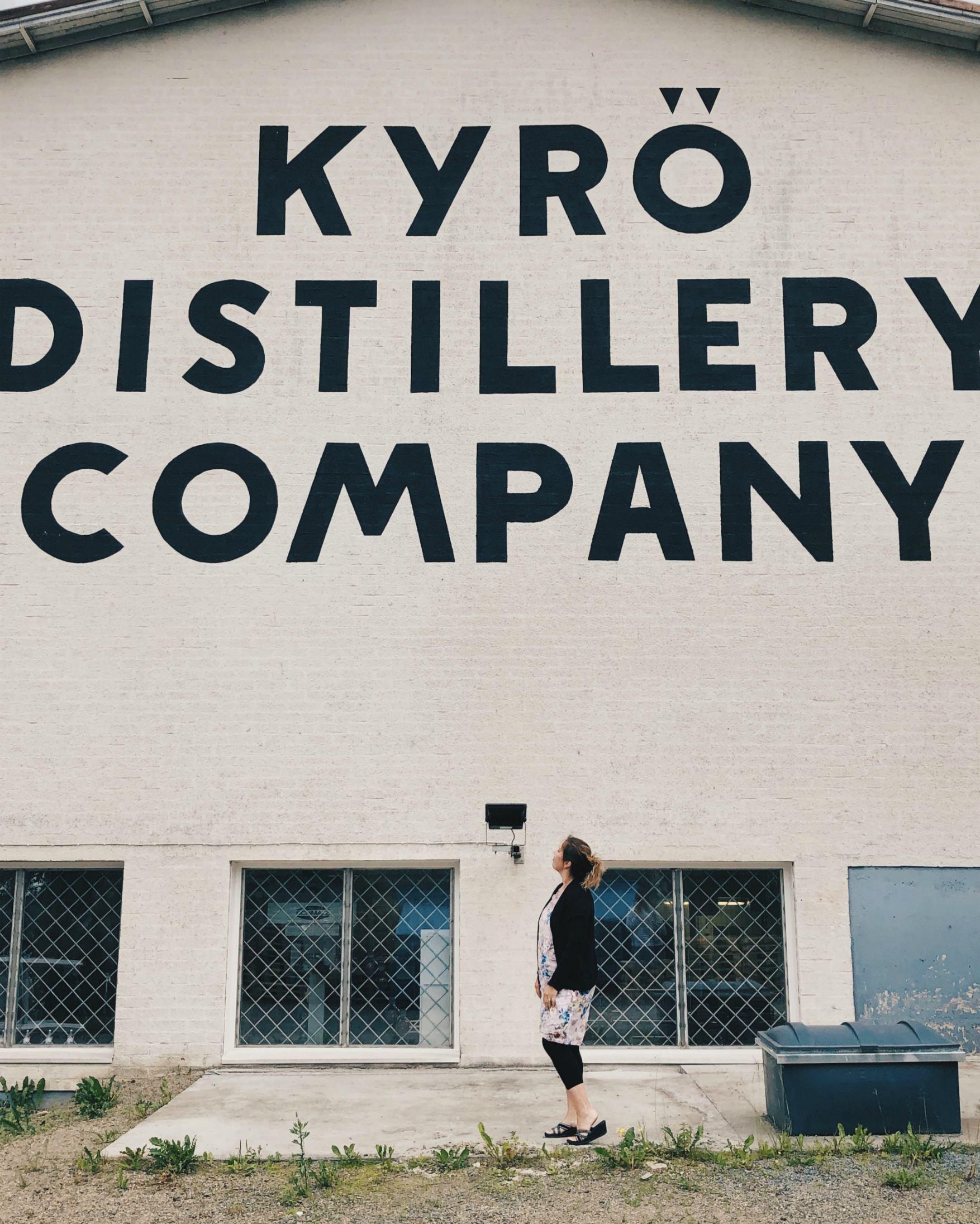 Kyrö Distillery Company Isokyrössä