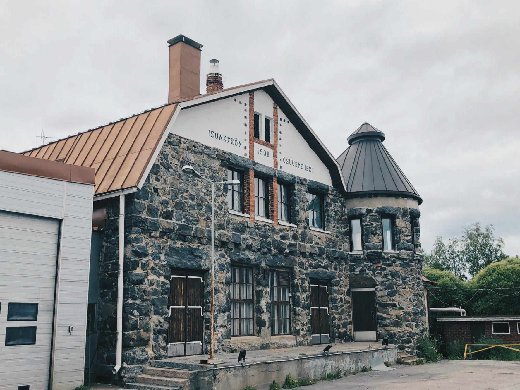 Napue Ginin kotipaikka Kyrö Distilleryllä Isokyrössä