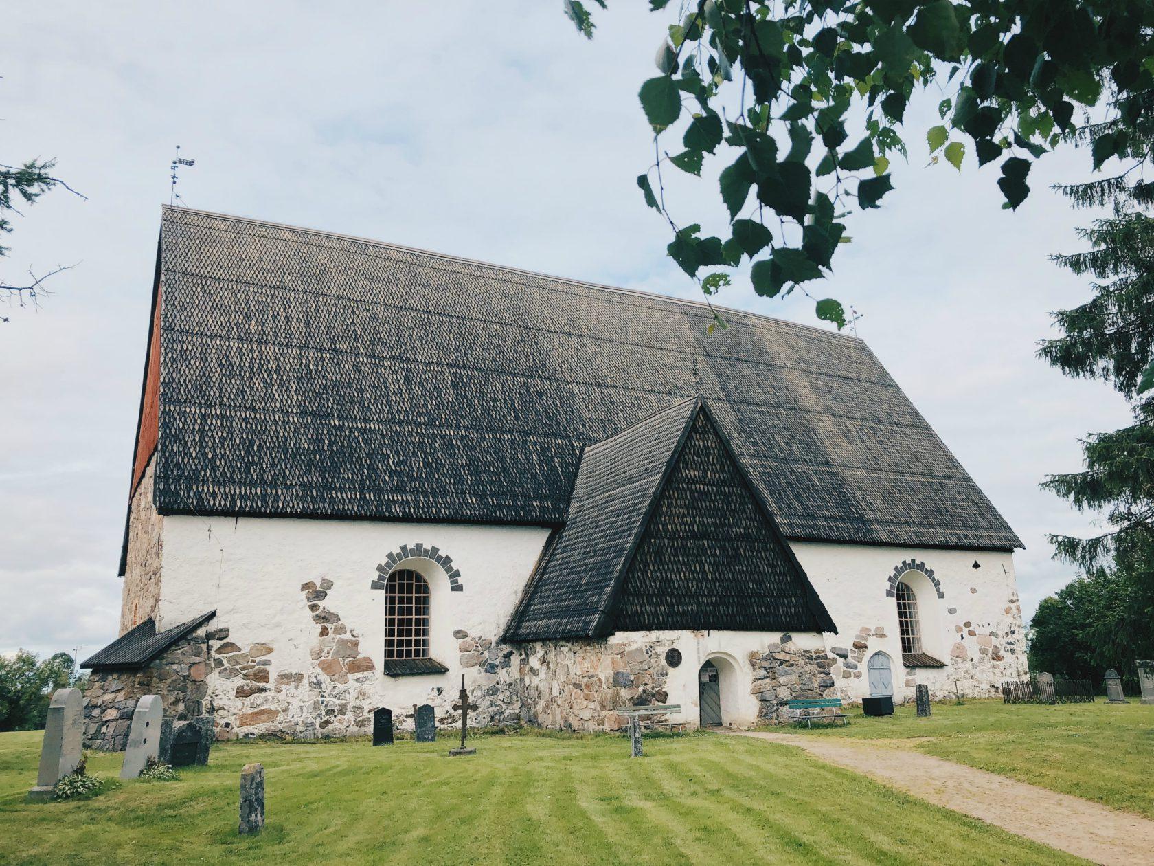 Isonkyrön keskiaikainen Vanha kirkko