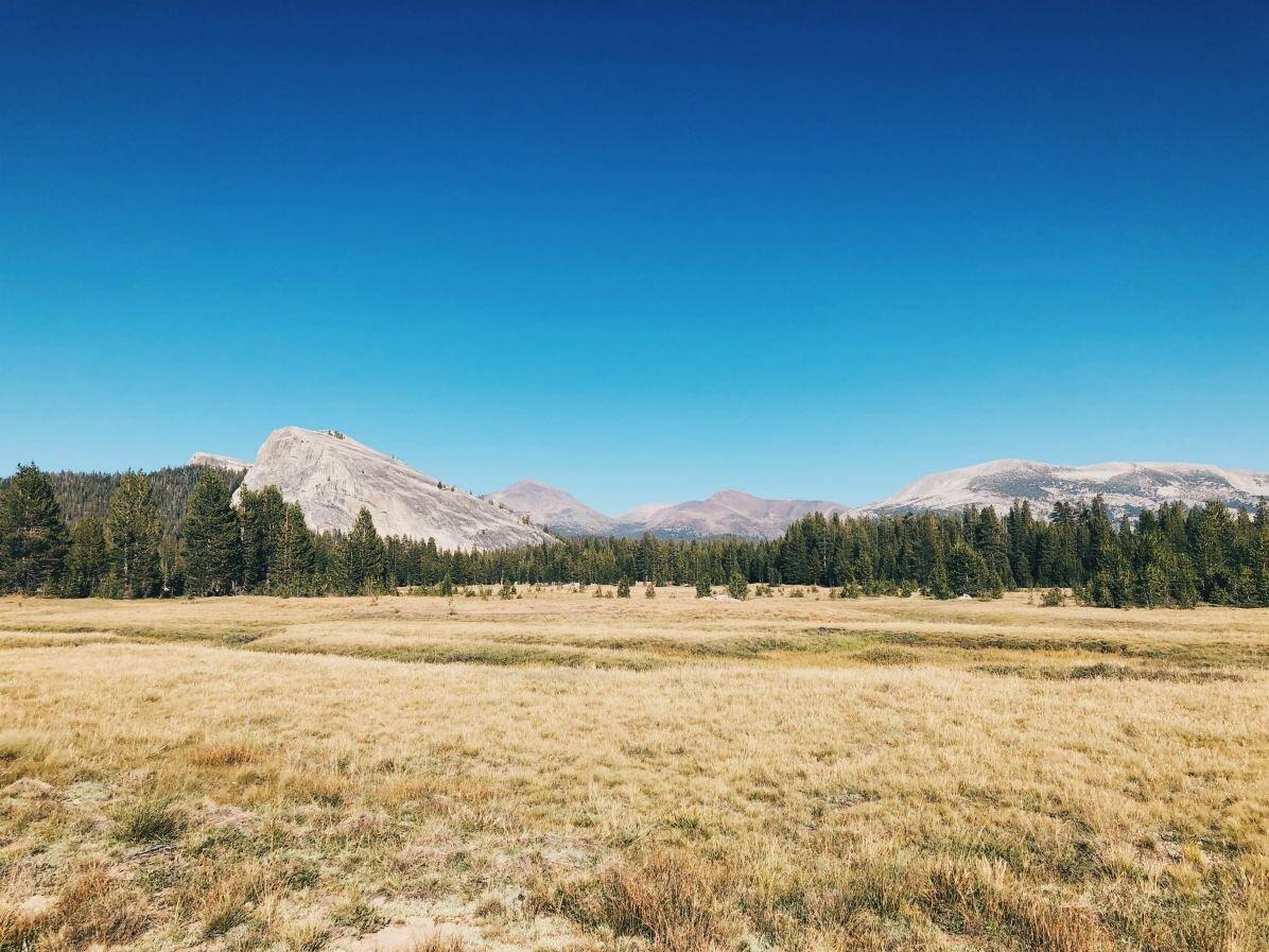 Tuolumne Meadows Yosemitessa