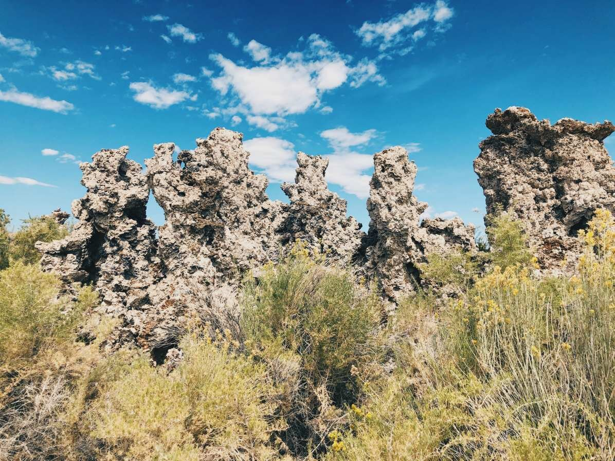 Mono Lake tufa towers. How were they formed?