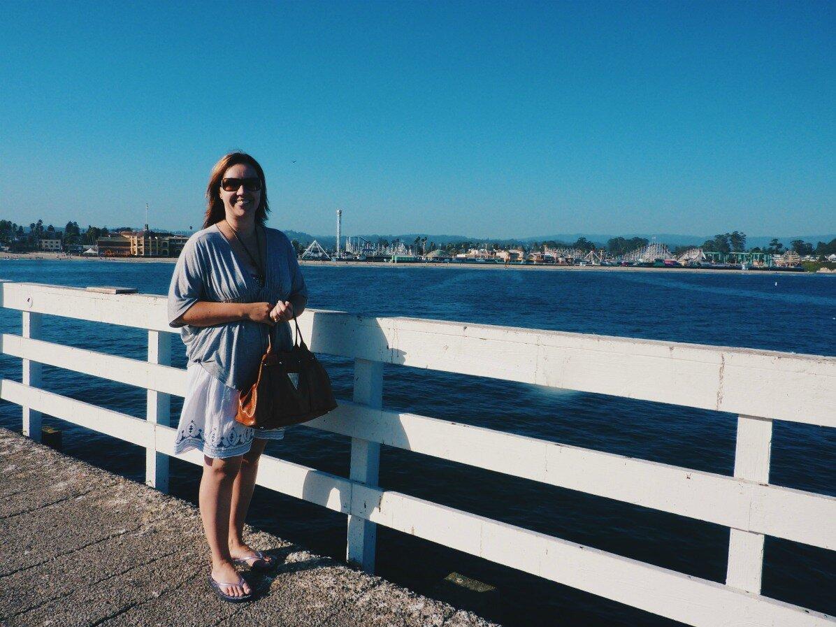 Santa Cruz Wharf eli laituri