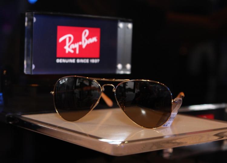 Ray-Ban, one of Luxottica's companies. Credit: Eva Rinaldi, Flickr
