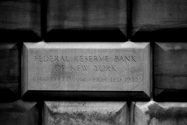 The Federal Reserve Bank of New York. Credit: eflon, Flickr