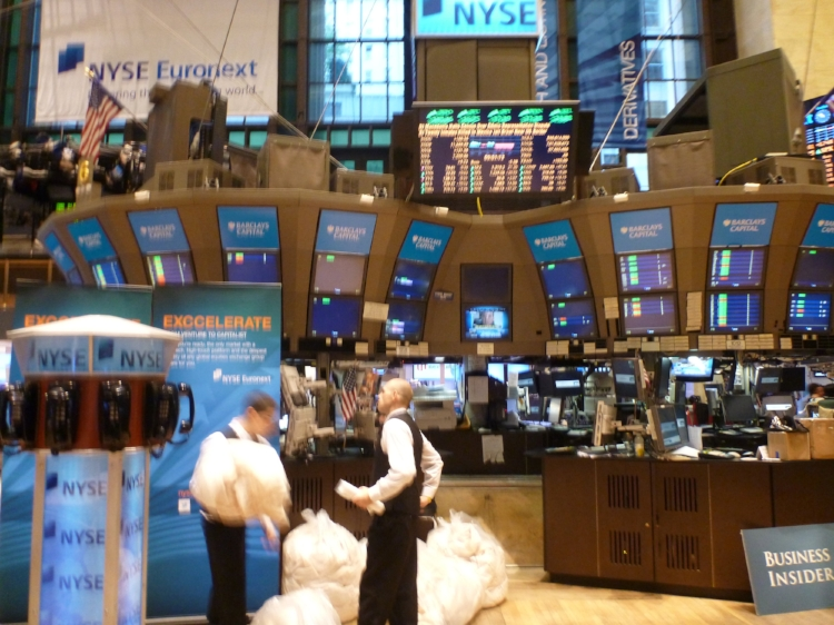 The New York Stock Exchange. Credit: Silveira Neto, Flickr