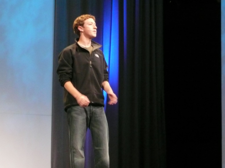 Mark Zuckerberg, founder and CEO of Facebook. Credit: Morgan Sherwood, Flickr