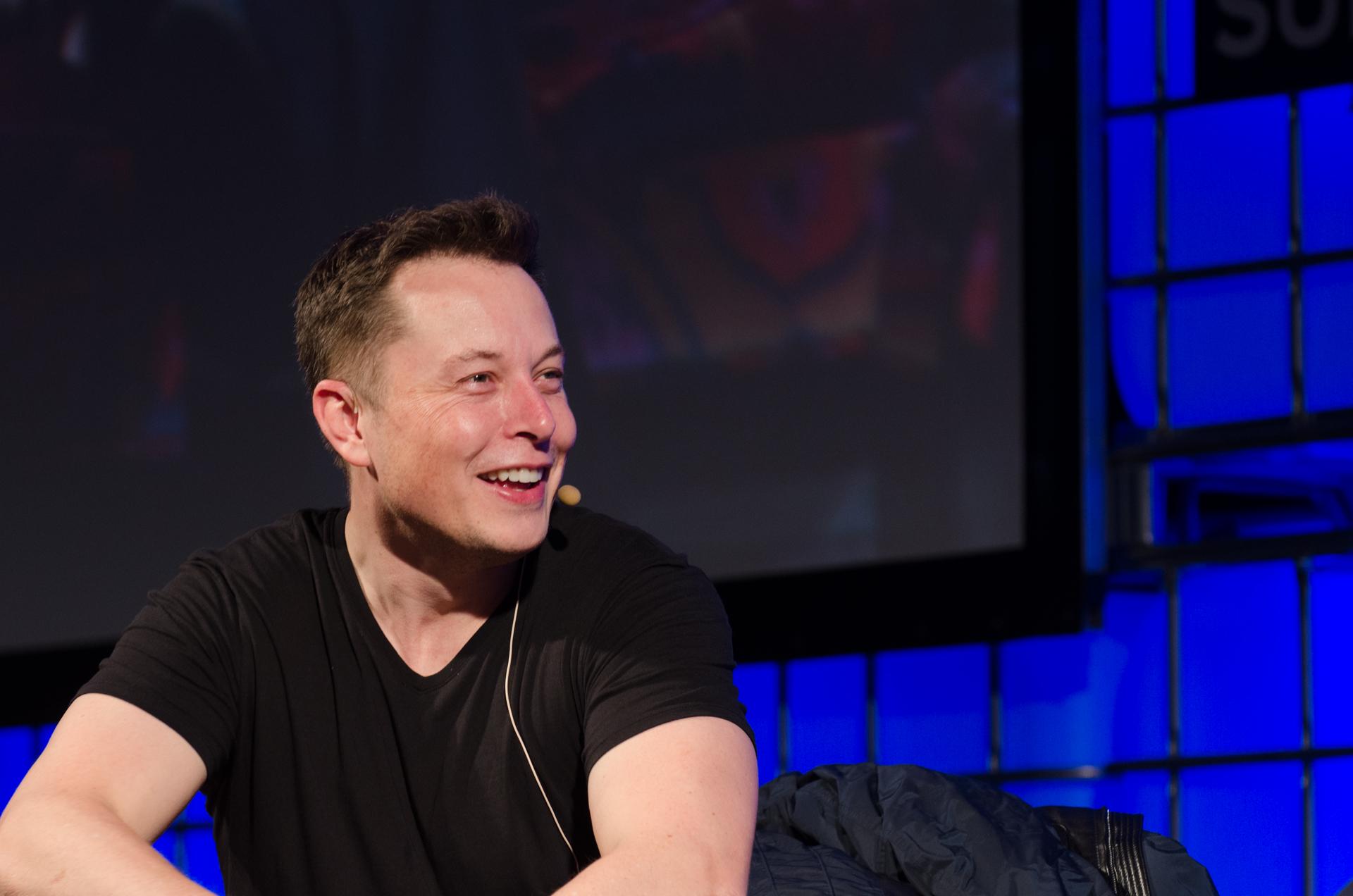 Elon Musk speaking at The Summit 2013. Photo credit: Heisenberg Media, Flickr.