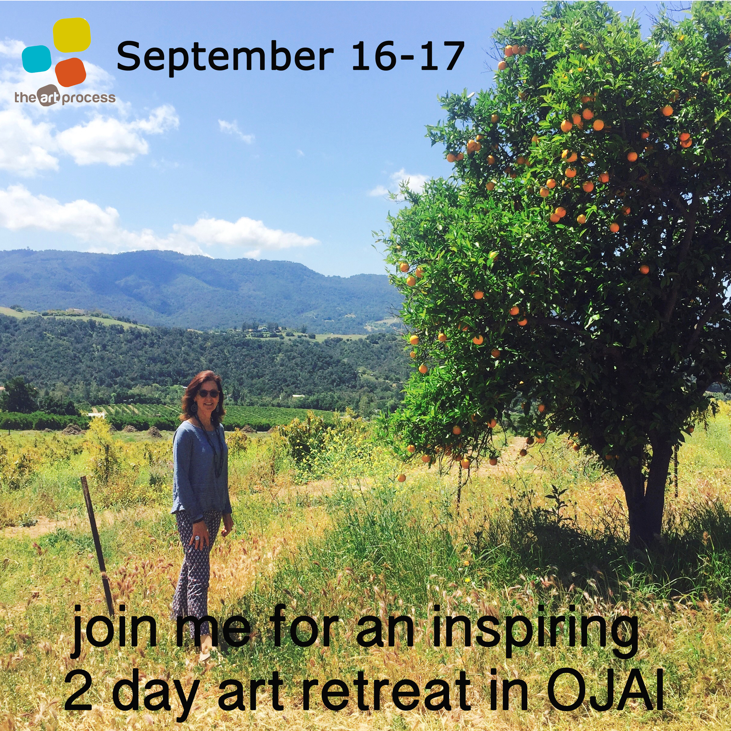 Lets dive in to the art process together at the inspiring Peppertree Retreat