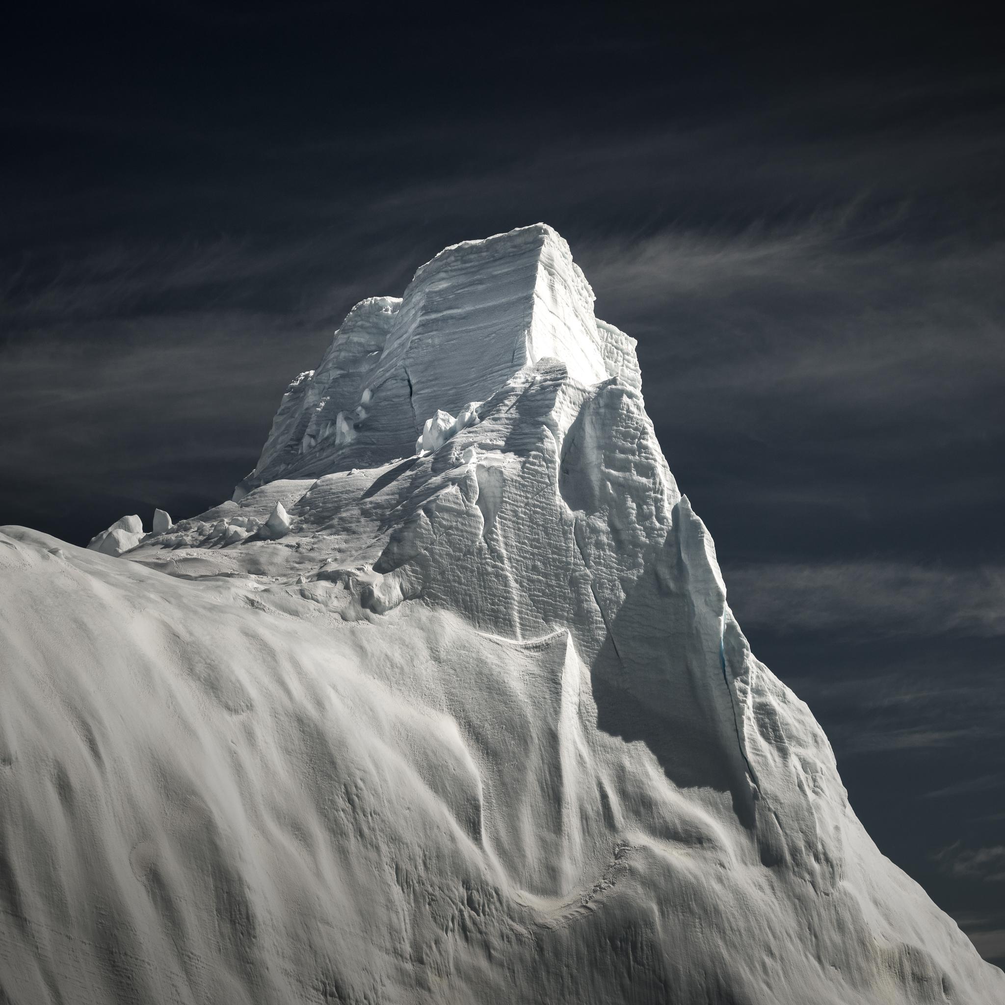 Towering icebergs near Brown Bluff.