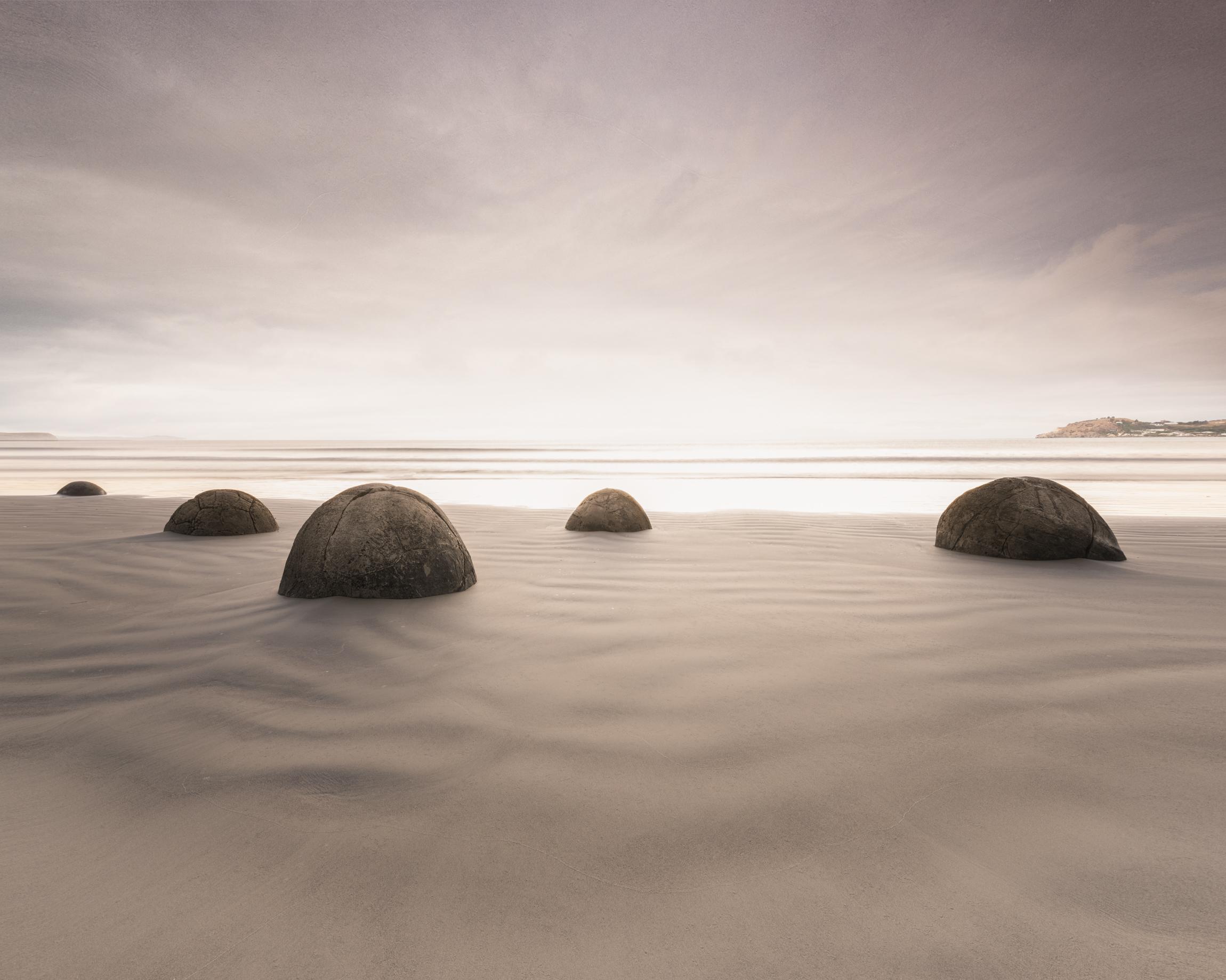 Seascape Category - Moeraki Boulders in New Zealand