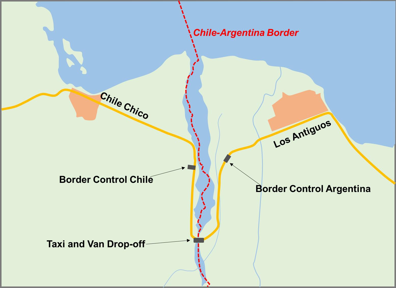 Border crossing basics.