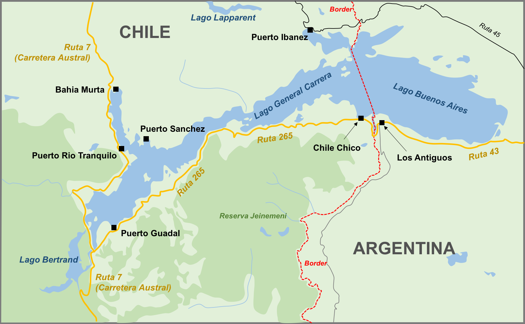 Area map.