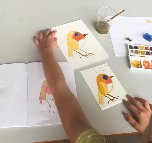 DRAWING BIRDS -