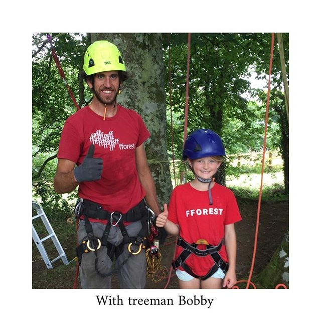 Tree climbing with Bobby . Both weeks 👍🏼 . . . 📷 @mummahaine  #stayplaydream #fforest #fforestgather