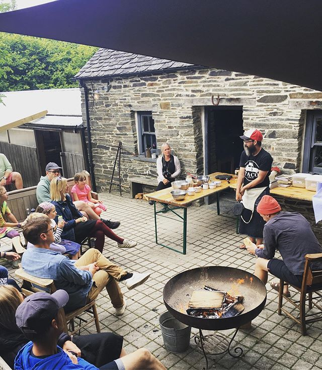 Bread, Beer, Fire 🔥  Our favourite @evilgordon @bread.beer.fire will be sharing his stories of baking, fire and beer with us during #week2 #fforestgather