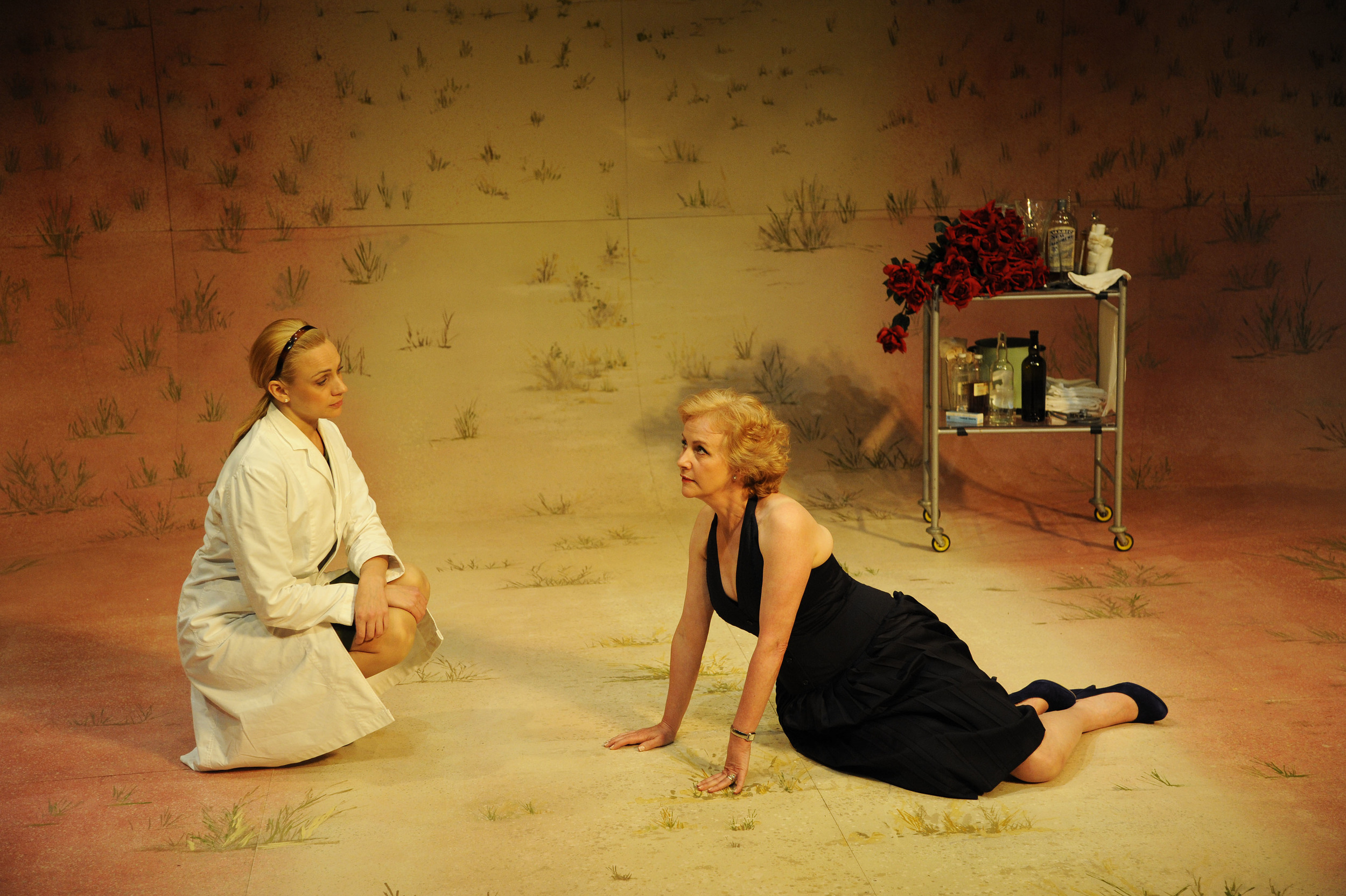 The Astronaut's Chair - Amanda Ryan as Larissa and Ingrid Lacey as Renee. Credit Nobby Clark.jpg
