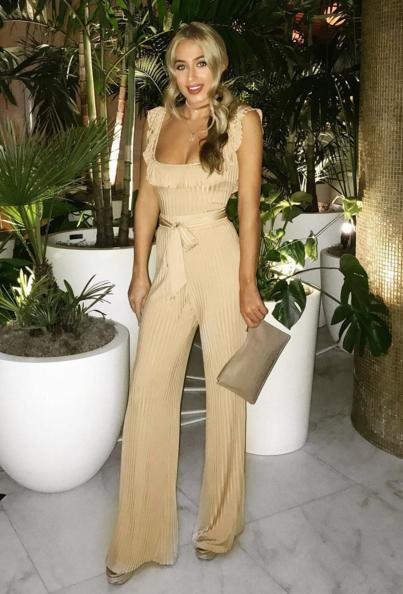 Ellysia Bodysuit & Trouser Set