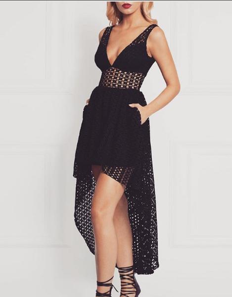 Francesca dress black